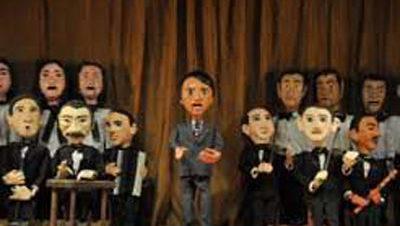 عبد الحليم حافظ على مسرح عرائس الساقية