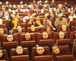 """مهرجان القاهرة السينمائي: عرض فيلم """"انظر للملك في وجه القمر"""" بدار الأوبرا"""
