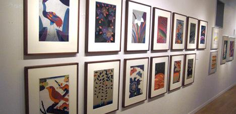 معرض الفنان أحمد أحمد زكي بساقية الصاوي