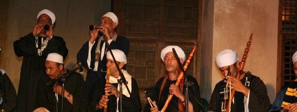 عروض النيل الشعبية في بيت السحيمي