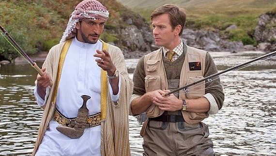Salmon Fishing in the Yemen: Gentle & Sweet Romantic Comedy