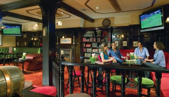 Darts: Traditional English Pub at Fairmont Heliopolis & Towers