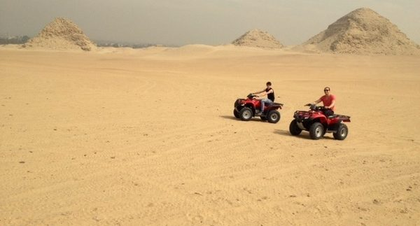 Sakkara Country Club: Quad Biking Around the Cairo Desert