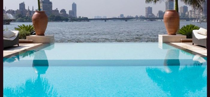 Sofitel Cairo El Gezirah: Lush Swimming Pool Day-Use in Zamalek