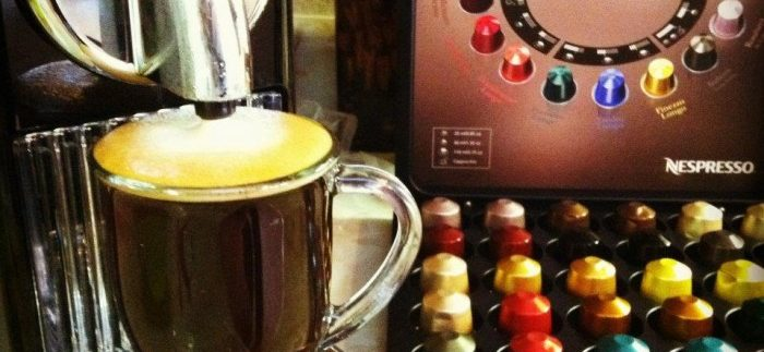 Nespresso: Modish Coffee Machines in Downtown Katameya Mall