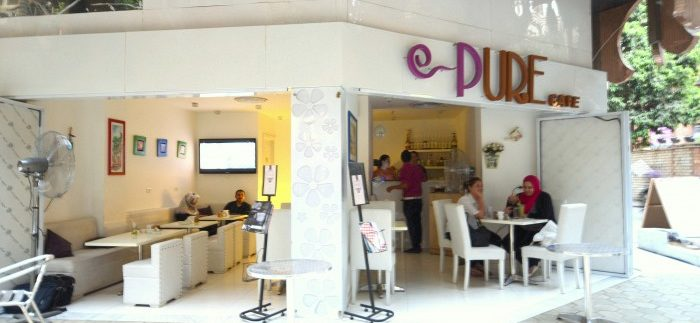 Pure Café: Bright, Busy Café in Zamalek