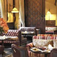 Saraya Gallery: Royal Dining at the Cairo Marriott Hotel in Zamalek