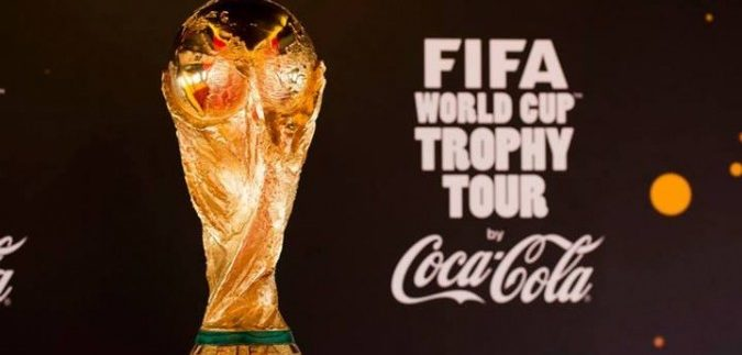 The FIFA World Cup Trophy Tour by Coca-Cola Comes to Cairo
