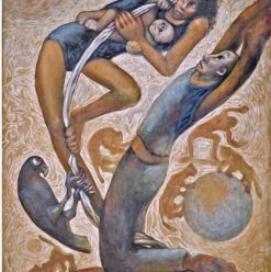 Picasso Art Gallery: 'Odyssey and Circus' by Faten El Nawawy