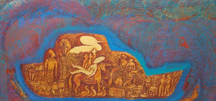 Picasso Gallery: 'Hoopoe Neighbour Girl' by Ahmed AbdelKareem