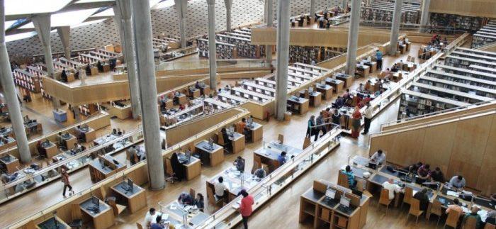 مكتبة الإسكندرية: شعاع الثقافة والحضارة في مصر