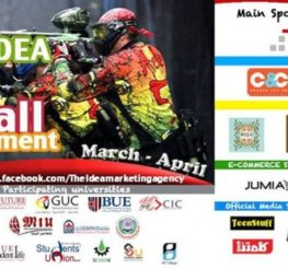 The Idea Paintball Tournament for Private Universities in Cairo