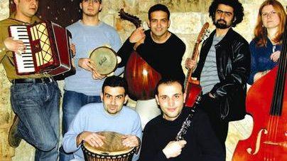مهرجان ريد زون:حفل فرقة تراب بمسرح الجنينة