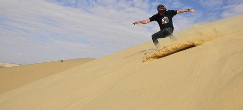 بطولة Dune Raider Rush 1 للتزلج على رمال القطنية