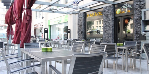 Olive & Oil: Run-of-the-Mill Lebanese Restaurant at Arkan Mall