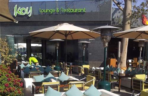 Koy Lounge & Restaurant: One of the Better Dining Options at the Platform in Maadi