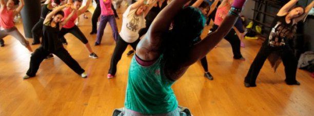 ورشة رقص الـ Zumba بميزان