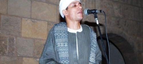 حفل للمنشد محمود التوني في بيت السحيمي