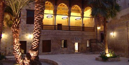الصالون الثقافي بقصر الأمير طاز