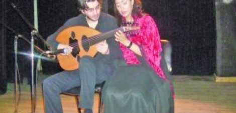حفل موسيقي لغسان اليوسف ودينا عبد الحميد في بيت الهراوي