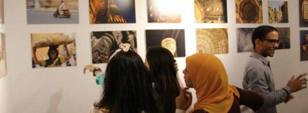 معرض نتاج الورش الفنية بتحرير لاونج