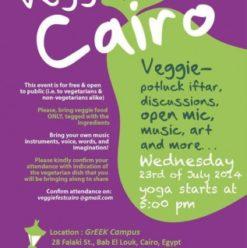 Veggie Fest Cairo at AUC Greek Campus