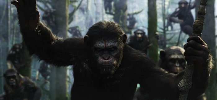 Dawn of the Planet of the Apes: Moving Sci-Fi Sequel