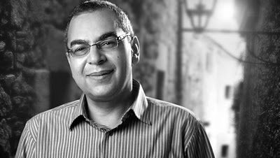 الكاتب أحمد خالد توفيق في صالون بيت السناري