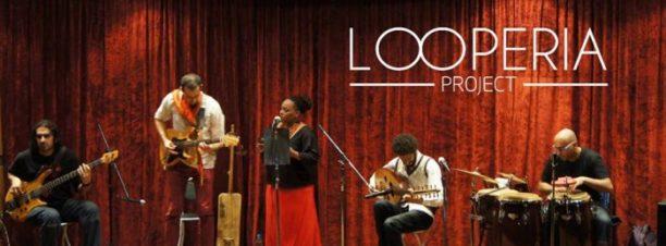 "حفل فريق ""Looperia"" بمكان"