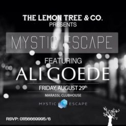 Mystic Escape Ft. Aly Goede at the Lemon Tree & Co.
