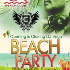 DJ Carlos at Rio Beach Club