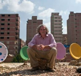 The Cairo Dish-Painting Initiative: Quirky Project Adds Colour to Cairo Skyline