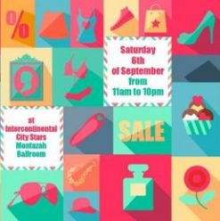Mega Sale Bazaar at Intercontinental City Stars