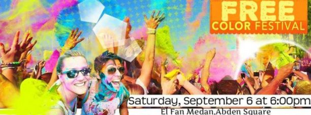 Free Color Festival at El Fan Medan