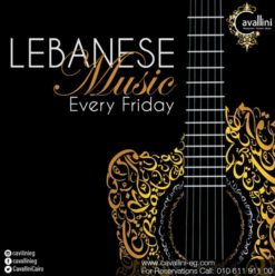 Lebanese Nights at Cavallini