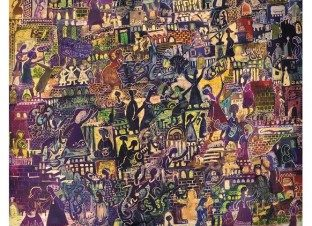 """معرض """"حكايات"""" للفنانة هيام عبد الباقي بآرت لاونج"""