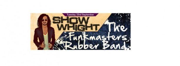 حفل Show Whight وThe Funkmasters Rubber Band بكايرو جاز كلوب
