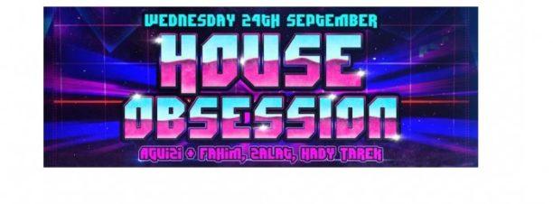 حفل House Obsession بكايرو جاز كلوب
