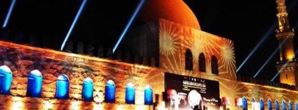 الحفل الختامي لمهرجان سماع الدولي للإنشاد والموسيقى الروحية تحت سفح الأهرامات