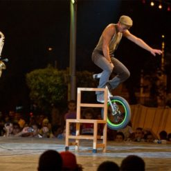 مهرجان سيركايرو: عرضي تونس وفرنسا على مسرح الجنينة