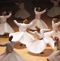 حفل المولوية المصرية بقصر الأمير طاز