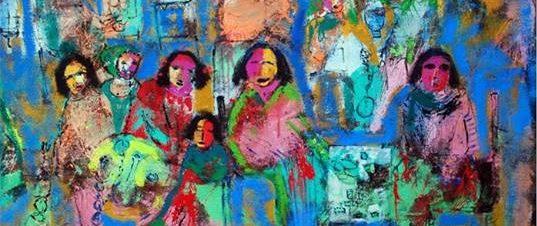 """معرض """"قطاع في الشارع"""" بمركز الجزيرة للفنون"""