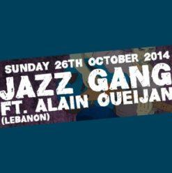 Jazz Gang Ft. Alain Queijan at Cairo Jazz Club