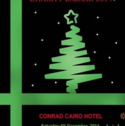 European Christmas Charity Bazaar at Conrad Cairo