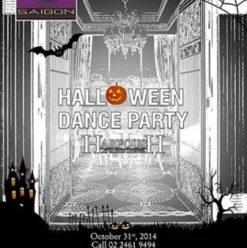 Halloween Dance Part with Ahmed Harfoush at Saigon Restaurant & Lounge
