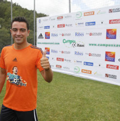 Campus Xavi: Palm Hills Developments Teams Up with Word-Class Football Player for Cairo Camp