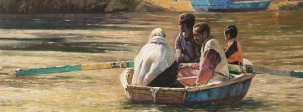 معرض الفنان وليد ياسين بساقية الصاوي