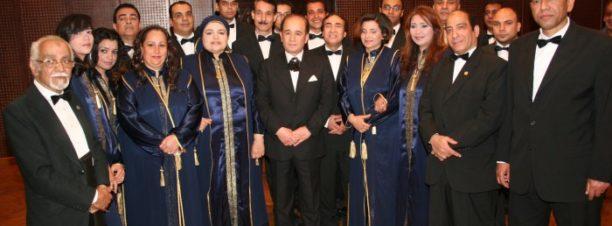 حفل فرقة الموسيقى العربية بمسرح الجمهورية