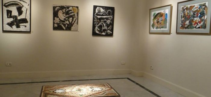 جاليري بيكاسو: معرض تناغم الأحجار للفنانة كيتي عبد الملك