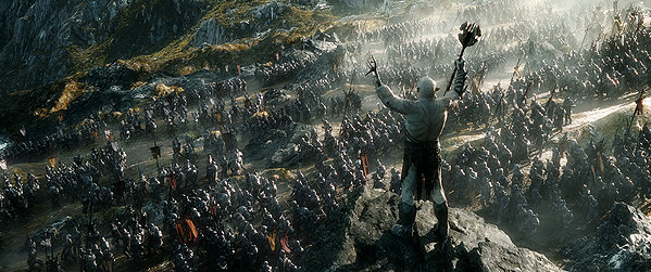 The Hobbit: The Battle of the Five Armies: المعركة الأخيرة… الإبهار الأخير